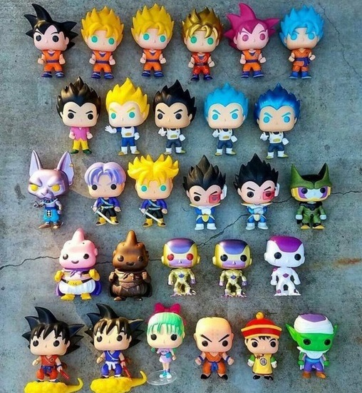 figurine pop dragon ball z personnages