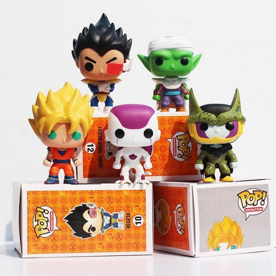 figurine pop dragon ball z presentation