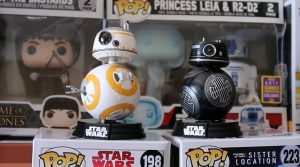 Figurine Pop Stars Wars BB-8